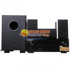 Dàn âm thanh DENON DHT510BT, ( AMPLY AVR-X510BT + LOA SYS5.1BKE1)