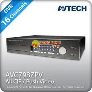 Đầu ghi hình 16 kênh Avtech AVC798zPv