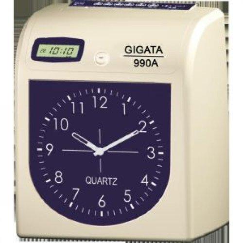 Máy chấm công thẻ giấy Gigata 990A