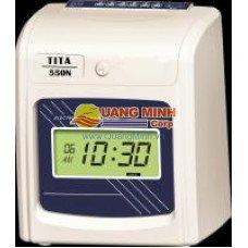 Máy chấm công thẻ giấy Tita 550N