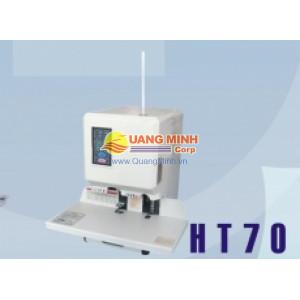 Máy đóng chứng từ Xiudun HT-70