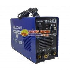 Máy hàn TIG/QUE Inverter weldcom VTIG200A