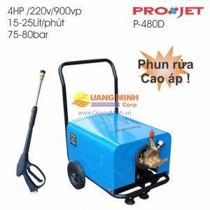 Máy phun rửa cao áp Projet P-480D