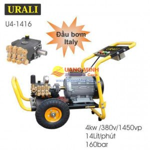 Máy rửa xe cao áp URALI 4kw U4-1416