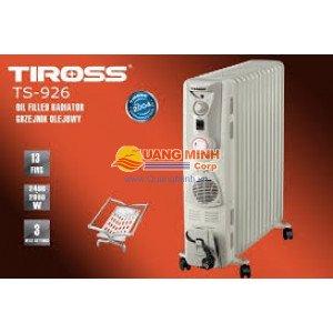 Máy sưởi dầu Tiross  TS926