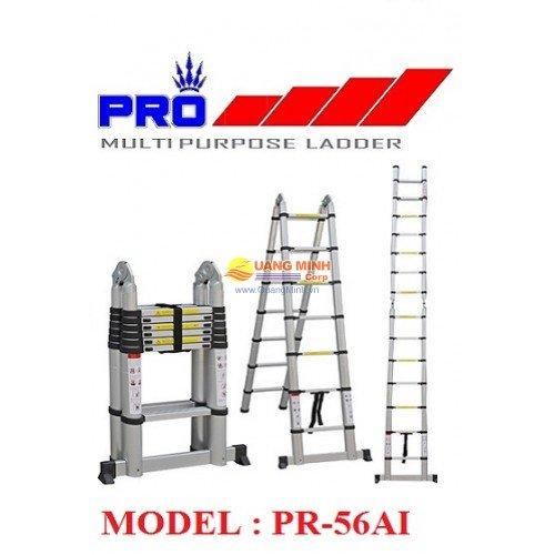 Thang nhôm rút đa năng Pro Telescopic PR-56AI