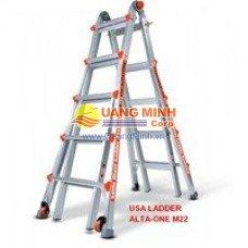 Thang nhôm rút Little Giant Alta one M22