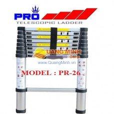 Thang nhôm rút Pro PR-26