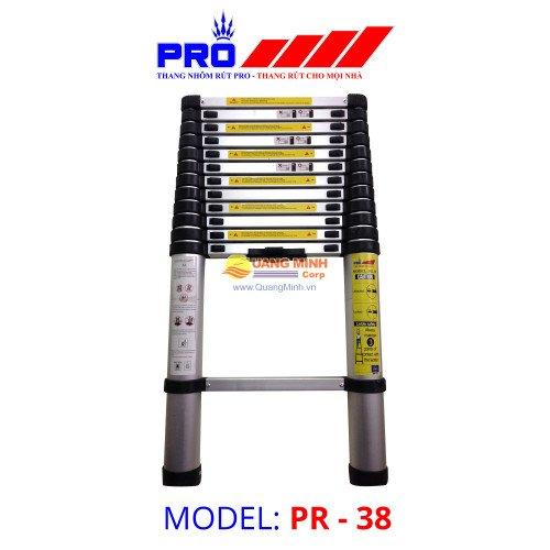 Thang nhôm rút Pro PR-38