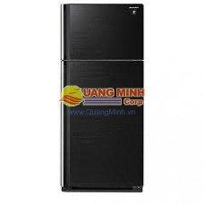 Tủ lạnh 2 cánh Hitachi 450L Inverter gương đen, cảm ứng VG540PGV3GBK