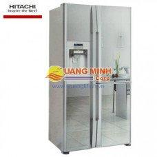 Tủ lạnh 2 cánh Hitachi 589L màu bạc thủy tinh R-S700PGV2GS