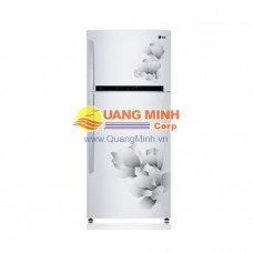 Tủ lạnh 2 cánh LG 318L màu trắng vân hoa GR-L392MG
