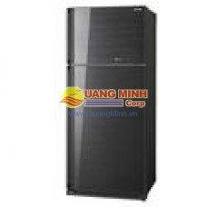 Tủ lạnh 2 cánh Sharp 625L mặt gương màu đen SJ-P625G-BK