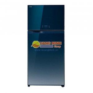 Tủ lạnh 2 cánh Toshiba 600L Inverter mặt gương mầu xanh WG66VDAZGG