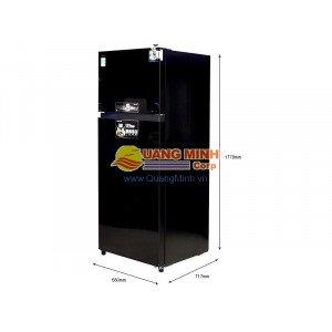 Tủ lạnh 2 cánh Toshiba Inverter 409L mặt gương đen GRTG46VPDZXK