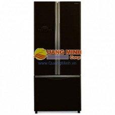 Tủ lạnh 3 cánh Hitachi 455L Inverter mặt gương đen R-WB545PGV2 GBK