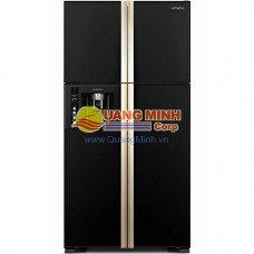 Tủ lạnh 4 cánh Hitachi 550L Inverter mặt gương đen W660FPGV3XGBK