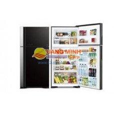 Tủ lạnh Hitachi 395 lít, 2 cửa, màu gương đen, inverter VG470PGV3GBK