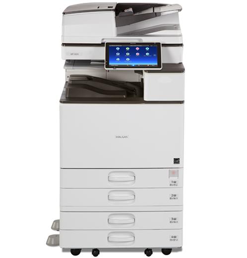 Kết quả hình ảnh cho Máy Photocopy Kỹ thuật số RICOH Aficio MP 4055SP